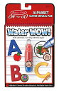 Melissa&Doug メリッサ&ダグ Water Wow! お水を使うお絵かきノート ABC 知育玩具 アルファベット