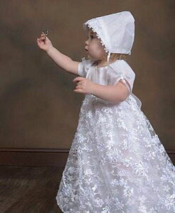 Lito リト 新生児セレモニードレス Amber 女の子 ベビー フォーマル 退院着 お祝い お宮参り 記念撮影