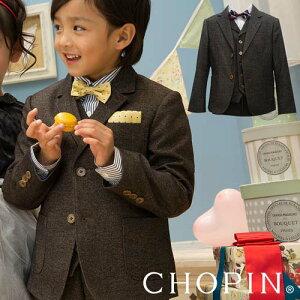 【ずっとお得な感動価格】【送料無料】フォーマルジャケット ツイード調 CHOPIN 男の子 1…