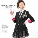 【サイズ交換無料】スパンコールのネクタイと星柄スカートのロックスタイルスーツ MICHIKO LOND...