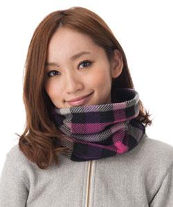 Had wide neck warmer [unisex; neck warmer: 1453