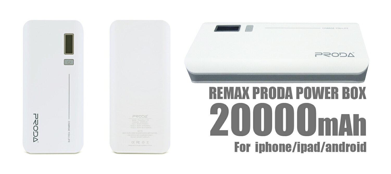 PRODA モバイルバッテリー 20000mAh