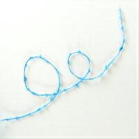 【O福wake:糸】CY-01100g(約750m)綿100%糸紐ループブークレメランジファンシーインディゴコーン巻オールシーズンテープラッピングヤーン糸毛糸手芸編み物手編み機械編みクラフトハンドメイド