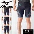 レーシングタイツ ミズノ mizuno メンズ ハーフタイツ スパッツ マラソン ジョギング 陸上競技 試合 大会 トレーニング 男性 スポーツウェア MIZUNO MTC レーシングウェア/U2MB7012