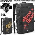 デサント/DESCENTE/スクエアバックパック/APオリジナル/30L/DMALJA04DT