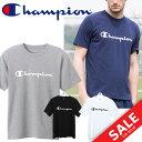 Tシャツ 半袖 メンズ チャンピオン champion トレーニングシャツ ロゴT スポーツウェア タウンンユース 紳士 男性用 半そで トップス/C3-KS324