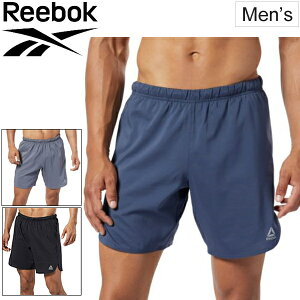 ランニングパンツ ショートパンツ メンズ リーボック Reebok ランニング 7インチ ショーツ/スポーツウェア ジョギング マラソン 長距離ラン 自宅トレーニング ジム 男性 ハーフパンツ 短パン ボトムス/FVN14