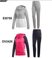 トレーニングウェア ジャケット パンツ 上下セット レディース アディダス adidas リニア フーディー トラックスーツ スポーツウェア 女性用 ジャージ 上下組 セットアップ/FRZ95【a20Qpd】