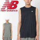 641a8bf7af848 ¥2,520. 割引クーポンあり【〜6月26日1:59迄】☆ノースリーブシャツ Tシャツ メンズ ニューバランス newbalance ...