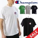Tシャツ 半袖 メンズ チャンピオン Champion CAGERS DRYSAVER TEE バスケットボールウェア 男性用 練習着 部活 クラブ トレーニング スポーツウェア トップス/C3-MB352