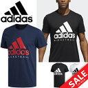 Tシャツ 半袖 メンズ アディダス ADIDAS BASKETBALL LOGO TEE バスケットボール スポーツ ウェア 男性用 カジュアル ビッグロゴ トップス/EVM68