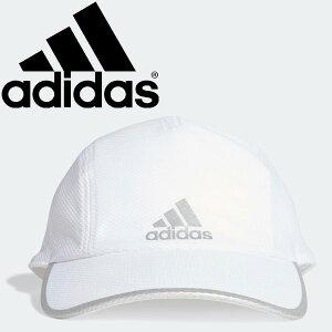 ランニングキャップ 帽子 メンズ レディース ジュニア アディダス adidas AEROREADY ランナー メッシュキャップ/スポーツ ジョギング マラソン ぼうし シンプル ロゴ ホワイト 白 アクセサリー/GNS20-FK0837【a20Qpd】
