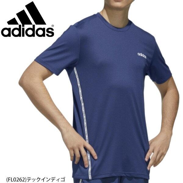 半袖 Tシャツ メンズ アディダス adidas M D2M MIX TEE/スポーツウェア トレーニング ジム 部活 男性 半袖シャツ トップス/GVD08-FL0262画像