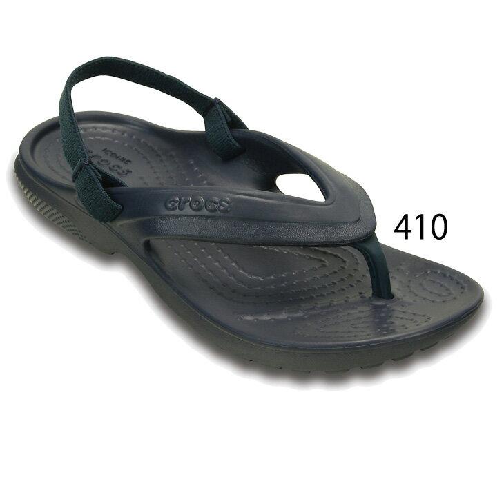 キッズサンダルジュニア子供用靴15.0-19.0cm/クロックスcrocsクラシックフリップ/ボーイズガールズくつ正規品/202871