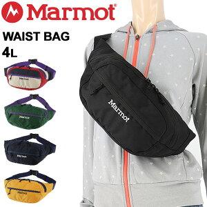 ウエストポーチ 4L メンズ レディース マーモット Marmot ウエストバッグ Waist Bag/アウトドア スポーツ カジュアル 鞄 ボディバッグ ヒップバッグ 男女兼用 かばん/TOARJA15