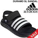 【a20Qpd】スポーツサンダル メンズ レディース シューズ アディダス adidas DURAMO SL SANDAL デュラモ/スポーティ カジュアル 男女兼用 靴 シューズ くつ/FY6035