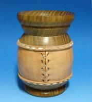 パロサントマテ壺タル型皮巻