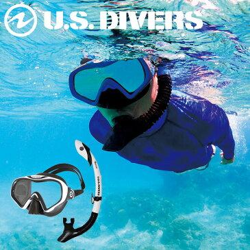 【スノーケル2点セット】US DIVERS/ユーエスダイバーズStarbuck3LX(スターバック3LX)IlanddryLX(アイランドドライLX)
