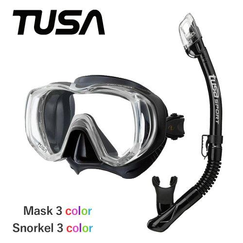 ダイビング 軽器材 セット 2点 マスク & スノーケル 軽器材セット