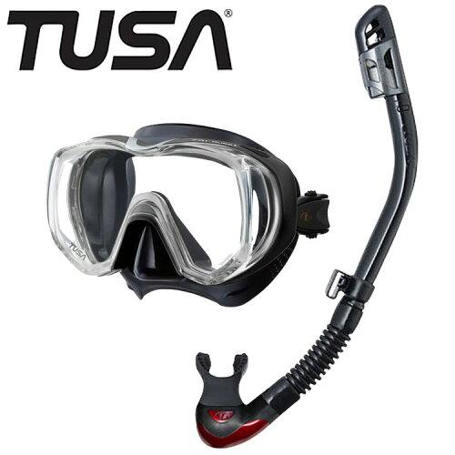 TUSA 軽器材2点セット ツサ ダイビング マスク シュノーケル 軽器材 セット 軽器材セット 2点 【m3...