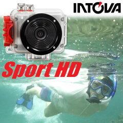 【水中カメラ】INTOVA/イントバSport HD デジタルカメラ SP1[702600010000]