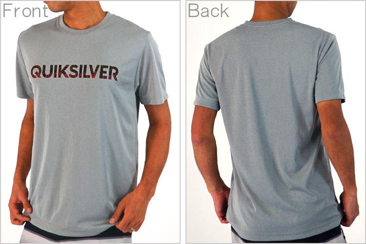 QUIKSILVERラッシュガード(Tシャツ)GLITCHEDLOGOSURFHTRQLY161056