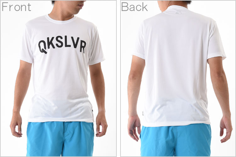 QUIKSILVERラッシュガード(Tシャツ)MWLIFESURFWHTQLY162032