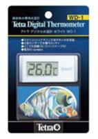 アクアF数量限定大特価品!【tetra】熱帯魚 飼育用品テトラ デジタル水温計ホワイト WD-1数量限定大特価!