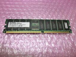 HITACHI MJ702GW PC2100R 1GB【中古】