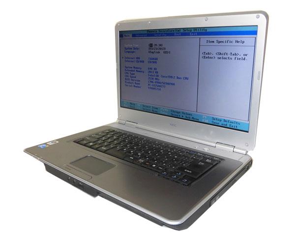 ワケあり(OSなし) 中古ノートパソコンNEC VersaPro VJ25AA-7 (PC-V…