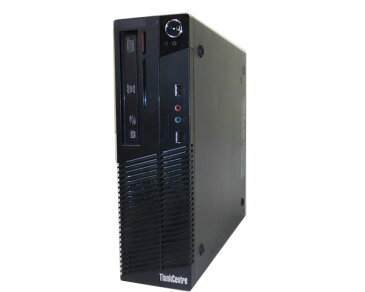 Lenovo ThinkCentre M70e Small 0804-E8J【中古】Core2Duo E7500 2.93GHz/2GB/320GB/DVDマルチ【Windows7-Pro 32bit】【中古パソコン】【本体のみ】