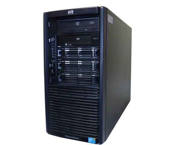 HP ProLiant ML350 G6 483447-B21【中古】Xeon E5620 2.4GHz/12GB/146GB×2:アクアライト