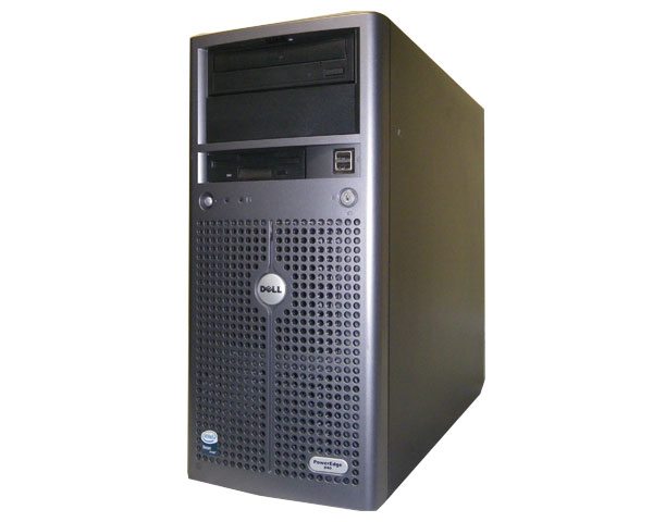 DELL PowerEdge 840 中古サーバーXeon X3220 2.4GHz/4GB/250GB×2