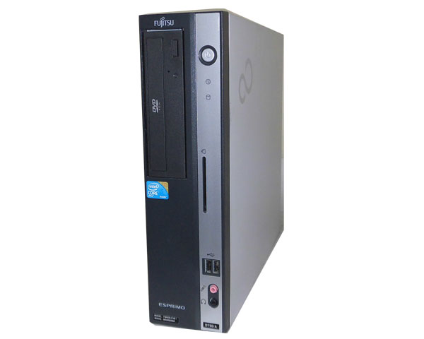 パソコン, デスクトップPC  Windows7 ESPRIMO D750A (FMVDE4T0E1) Core i5 660 3.3GHz 2GB HDD160GB DVD-ROM