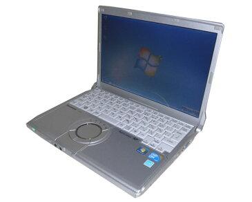 中古ノートパソコン モバイル 軽量 Windows7 Panasonic Let'sNote CF-N9 (CF-N9LWCJDS)Core i5-560M 2.66GHz/2GB/250GB/光学ドライブなし/HDMI/WPS Office付き