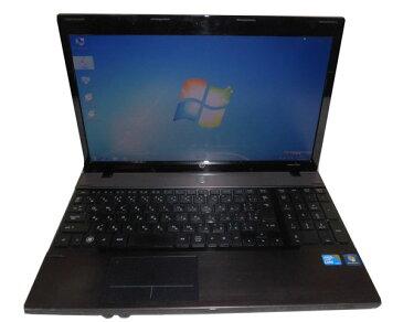 中古ノートパソコン Windows7 Pro 32bit HP ProBook 4520s (VE680AV) Core i3-380M 2.53GHz/2GB/250GB/DVDマルチ/テンキー/HDMI/15.6インチ