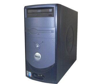 OSなし DELL Dimension 3000 Pentium4-3.0GHz 1GB HDDなし DVD-ROM 中古パソコン デスクトップ