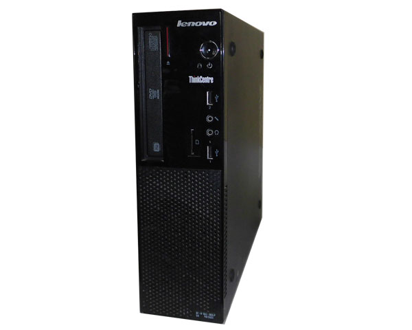 パソコン, デスクトップPC Windows10 Pro 64bit Lenovo ThinkCentre E73 Small 10AU-0065JP Core i3-4130 3.4GHz 4GB 500GB DVD PC