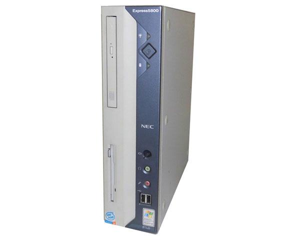 OSなし NEC Express5800/51Lb(N8100-8006) Pentium4-2.8GHz 256MB 80GB×2 DVDコンボ 中古ワークステーション