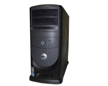 OSなし DELL Dimension 8400 Pentium4-3.2GHz 2GB HDDなし DVDマルチ GLADIAC 785 GT 中古パソコン デスクトップ 本体のみ タワー型