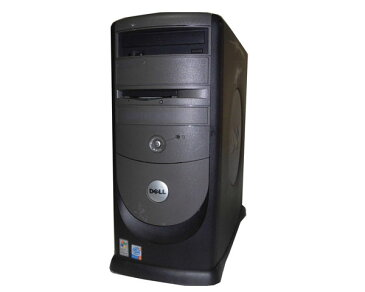 中古パソコン タワー型 WindowsXP DELL Dimension 8300 Pentium4-2.6GHz 2GB 80GB CD-ROM GeForce FX200