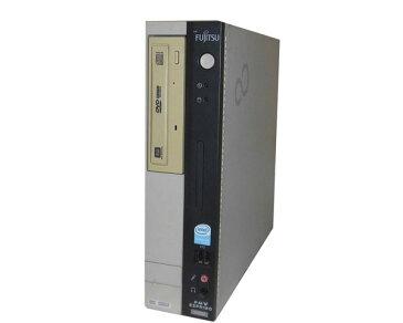OSなし 富士通 FMV-D3220 (FMVXD1132) Pentium4-3.0GHz 512MB HDDなし DVDマルチ 中古パソコン デスクトップ