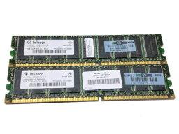 HP 326317-451 中古メモリーPC3200U 2GB(1GB×2) ECC