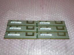 SAMSUNG PC3-10600R 24GB(4GB×6) 2R×4 富士通 PRIMERGY RX300 S6用 中古メモリー
