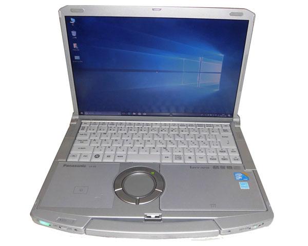パソコン, ノートPC  Windows10 Panasonic LetsNote CF-F9 (CF-F9JWPCPS) Core i5-520M 2.4GHz 4GB 320GB DVD LAN 14.1 WXGA(1440900)