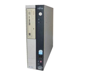 中古パソコン デスクトップ Vista 富士通 ESPRIMO FMV-D3330 (FMVXDD772) Pentium4-3.0GHz/2GB/80GB/DVDマルチ