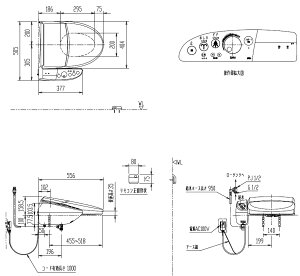 【送料無料】【色選べます】INAXトイレ、温水洗浄便座・KシリーズエクストラCW-K45