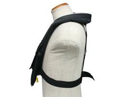 手動膨張式ライフジャケット肩掛式オーシャンLG-3型MIブラック国交省認定品TYPEA検定品新基準対応