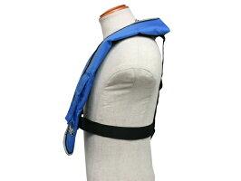 手動膨張式ライフジャケット肩掛式オーシャンLG-3型MIブルー国交省認定品TYPEA検定品新基準対応
