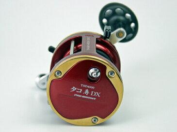 ベイトリール タコ専DX TSD4000 PEライン8号 約50m付 プロマリン 釣り具